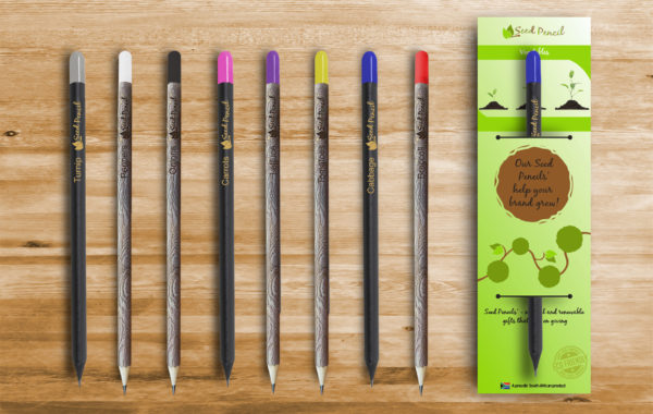 Eco Friendly Vegetable Seed Pencil